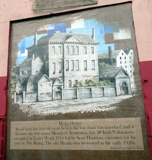Mural of Moira House