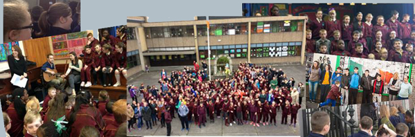 Schools pics in montage