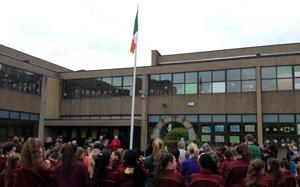 St James school Flag raising