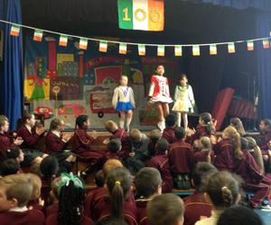 St James school Irish dancing