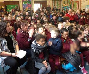 St James school assembly
