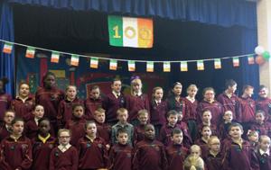 St James school choir